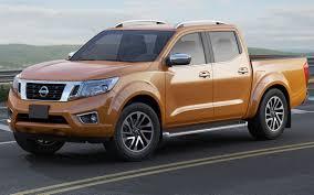 orange nissan truck nissan navara np300 frontier 3d cgtrader