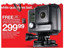 super target black friday sales gopro hero lcd limited bundle at target black friday sale