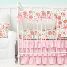 Crib Bedding Pattern Felicity S Pink Vintage Floral Baby Bedding Swatch Kit Caden