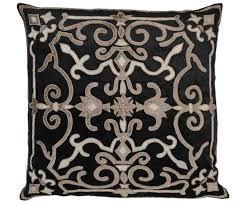 black velvet floor cushion