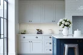 navy blue and grey kitchen cabinets 25 inviting blue kitchen cabinets to