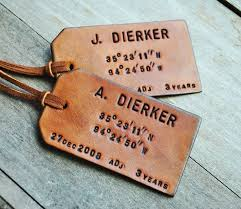 unique luggage tags 19 best of the images on leather luggage tags