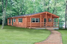 log home mobile homes wide interior cabins 14 small cabin