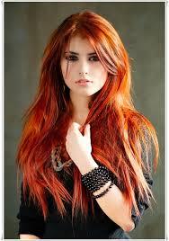 Frisuren Lange Haare Kupfer kupferrot one day frisur und haar