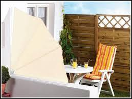 sonnenschutz balkon ohne bohren sichtschutz terrasse facher kreative ideen für ihr zuhause design