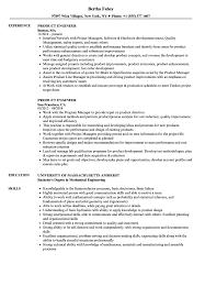 resume tips and exles product engineer resume sles velvet