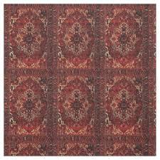 Oriental Rug Design Persian Fabric Zazzle