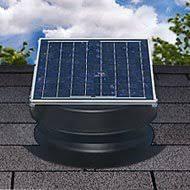 how solar attic fans work