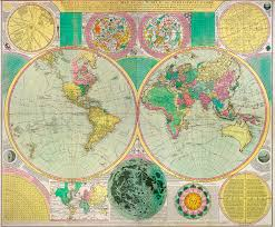 Antique World Map by Antique World Map C1790s U2013 If Conservatives Go Mad How Will We Be