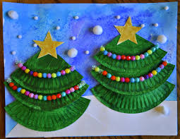 Paper Christmas Tree Crafts For Kids Christmas Tree Art Christmas Tree Art Tree Art And Christmas Tree