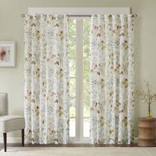 Peach Floral Curtains Buy Floral Curtains From Bed Bath U0026 Beyond
