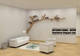 Modern Wall Bookshelf - Wall modern design