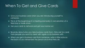 What Information Do You Put On A Business Card How To Use Business Cards