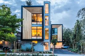 townhouse design modern prefab townhomes in west seattle design milk