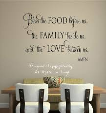 Pictures For Dining Room Wall Wall Decal Sayings For Dining Room Vinyl Wall Decal Sayings