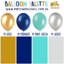 balloon wholesale party balloon colour inspiration palette 14 vintage party