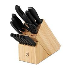 victorinox kitchen knives set victorinox swiss classic 15 cutlery block set