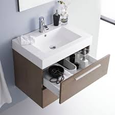 Bathroom Wall Hung Vanities Narrow Sink Vanity Unit Ohio Solid Oak Narrow Cabinet With