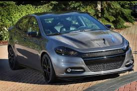 How Much Are Dodge Darts Mopar Shows The Darker Side Of The 2013 Dodge Dart With Sema Study