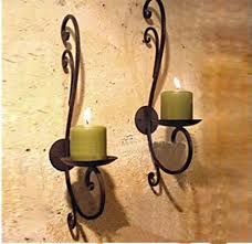 2pcs lot Iron candle holder home decoration metal candle stand