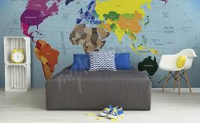 Fototapete Schlafzimmer Blau Fototapeten Weltkarte U2022 Größe Der Wand Myloview De