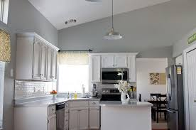 kitchen painted gray with white cabinets to a t i m dreaming of a white kitchen kitchen cabinets