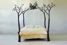 bedroom round brown hamburger bed idea unique bedroom ideas