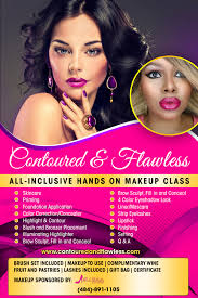 make up classes in contoured flawless style makeup class registration