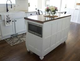 kitchen island microwave adding a microwave in your kitchen island colors and craft