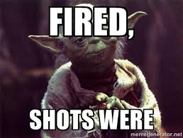 Shots Fired Meme - we are testers ethics morals and honesty included weartesters