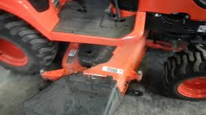 how long does it take to remove the mower from a kubota bx youtube