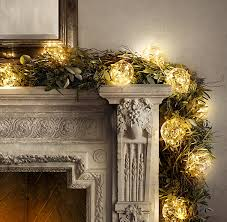 mercury glass string lights holiday favs restoration hardware jonathan stiers