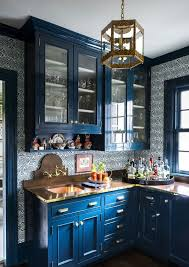blue kitchen cabinets with granite countertops 25 beautiful and inspiring blue kitchens shelterness