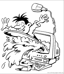 computer coloring pages free printable coloring sheets kids