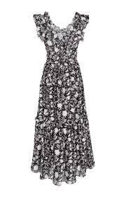 brigitte floral organza dress by ulla johnson moda operandi