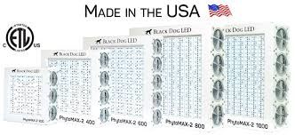 usa made led grow lights phytomax series led grow lights led indoor grow lights