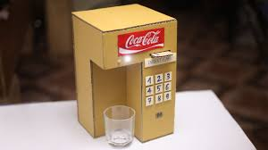 diy coca cola fountain machine using a credit card at home youtube