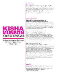 Sample Graphic Design Resumes by Resume Examples Templates Professional Graphic Design Resume