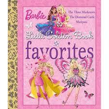 buy barbie golden book favorites musketeers