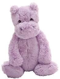 amazon com jellycat bashful lilac hippo medium 12 inches toys