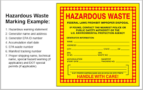 hazardous waste labeling and marking quick tips 322 grainger