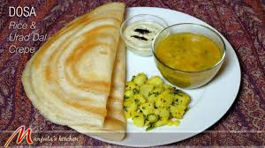 Manjula Kitchen Dosa Popular South Indian Food Recipe By Manjula Youtube
