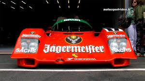 jagermeister porsche 962 group c racing porsche 962c vs sauber c9 youtube