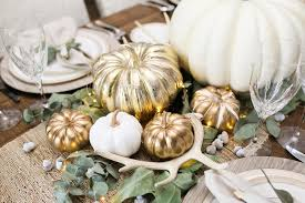 chic thanksgiving table living with landyn