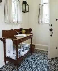 pebble tile bathrooms atticmag