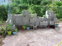 Garden Walls Ideas by Cinder Block Ideas Wall Garden 19 Amazing Cinder Block Garden