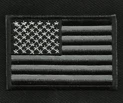 Iron On American Flag Reflective Patch Ebay