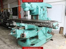 fresadoras cincinnati used metalworking machinery teran