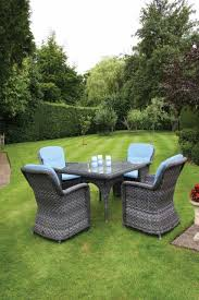 Oxford Armchair Bridgman Oxford Square Table With 4 Oxford Armchair Garden Set