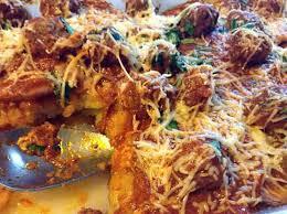 recette de cuisine viande recette de pommes de terre aux boulettes de viande au four